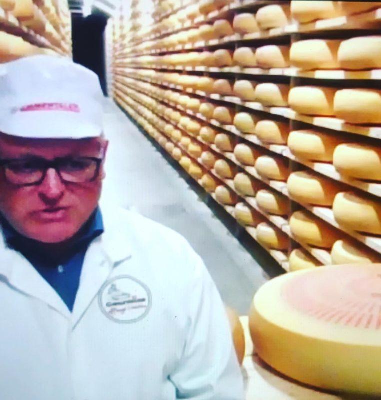 Swiss cheese - emmentaler