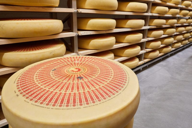 Swiss cheese emmentaler